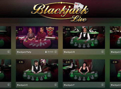 Evolution Live Blackjack