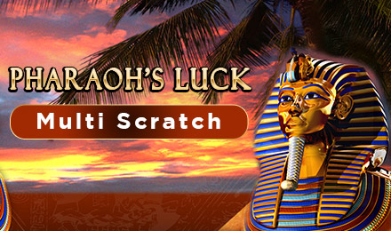 Pharaoh's Luck Multi Scratch
