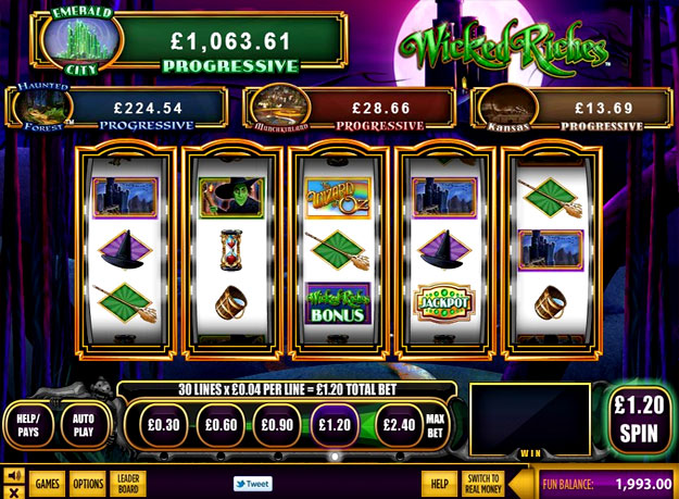 Wicked Riches Slots
