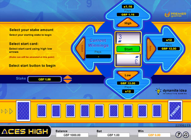 Aces High Instant Game Screenshot