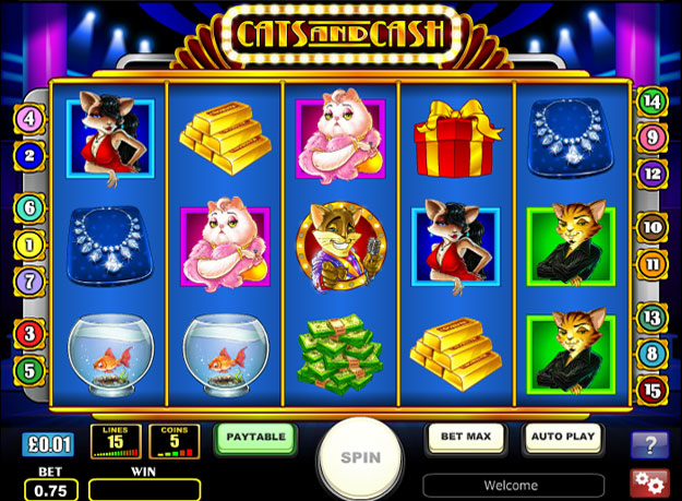 Cats and Cash Slots Screenshot