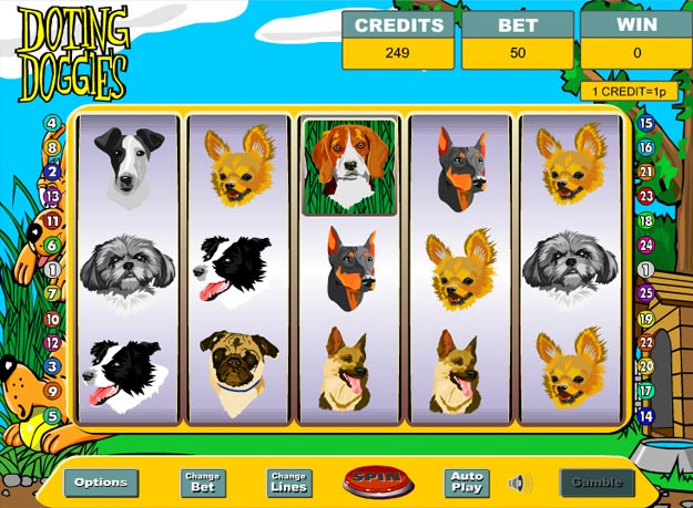 Doting Doggies Slots Screenshot