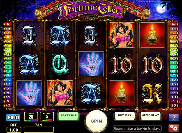 Fortune Teller Slots Screenshot
