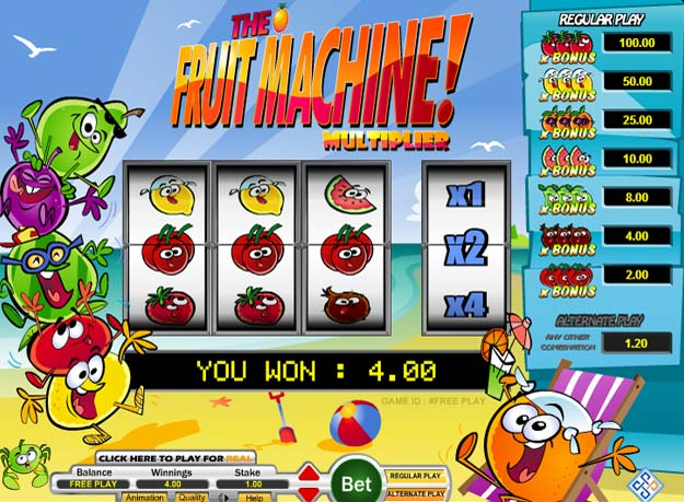 Fruit Multi Slots Screenshot