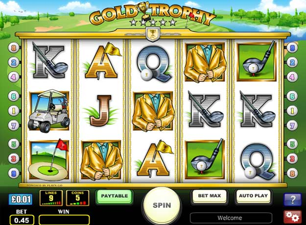 Gold Trophy Slots Screenshot