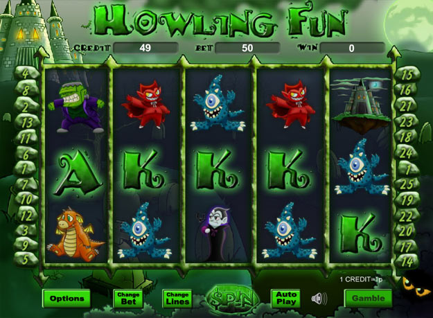 Howling Fun Slots Screenshot