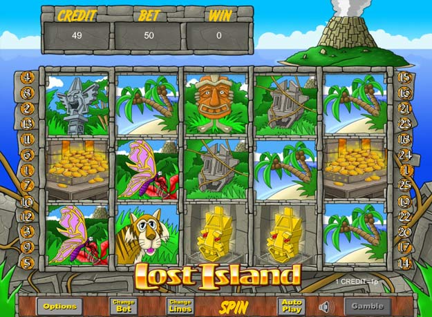 Lost Island Slots Screenshot