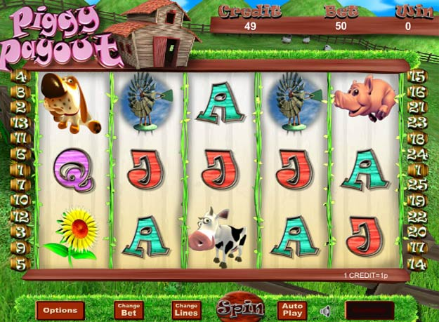 Piggy Payout Progressive Slot Screenshot