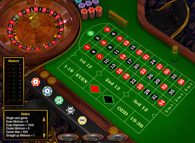 Roulette Deluxe Screenshot