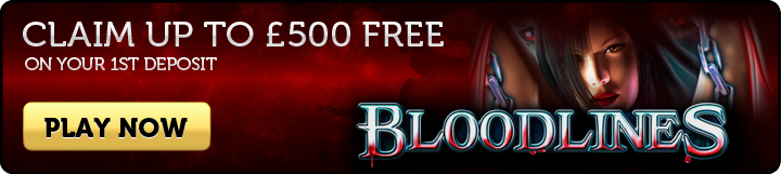 Blood Lines Slots - Join Now
