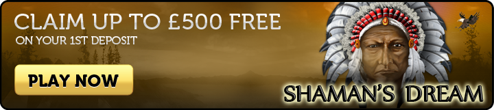 Shaman's Dream Slots - Join Now