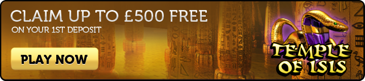 Temple of Isis Slots - Join Now