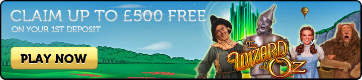 Wizard of Oz Slots - Join Now