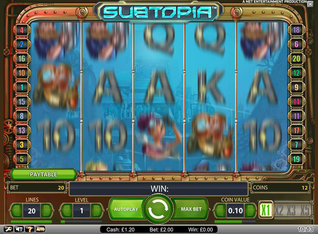Subtopia Slots Screenshot