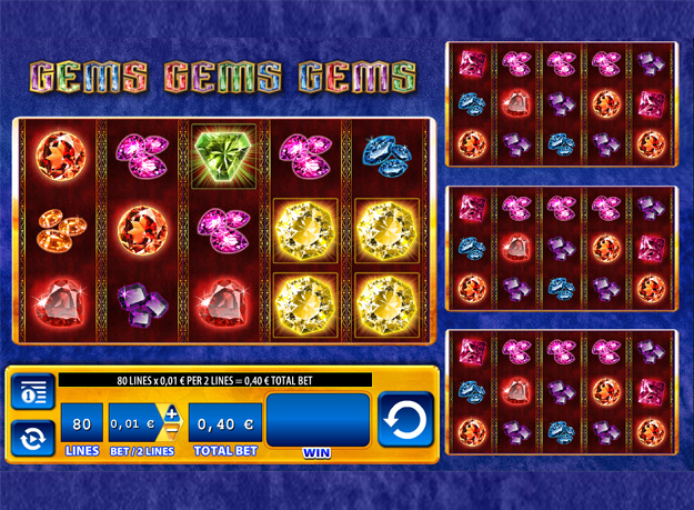 Gems Gems Gems Slots Screenshot
