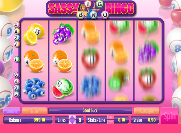 Sassy Bingo Slots Screenshot