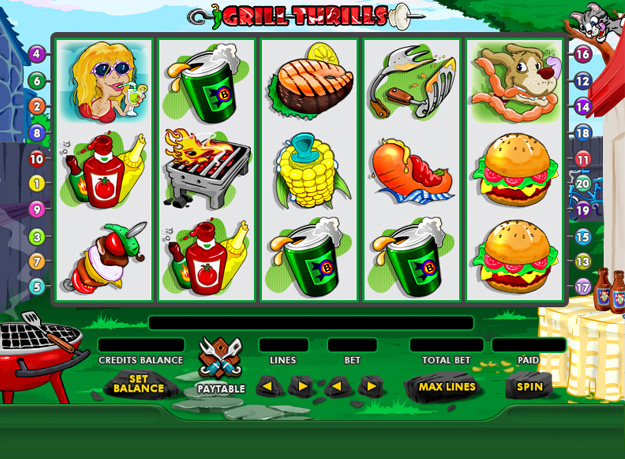 Ultimate Grill Thrill Jackpot Slots Screenshot