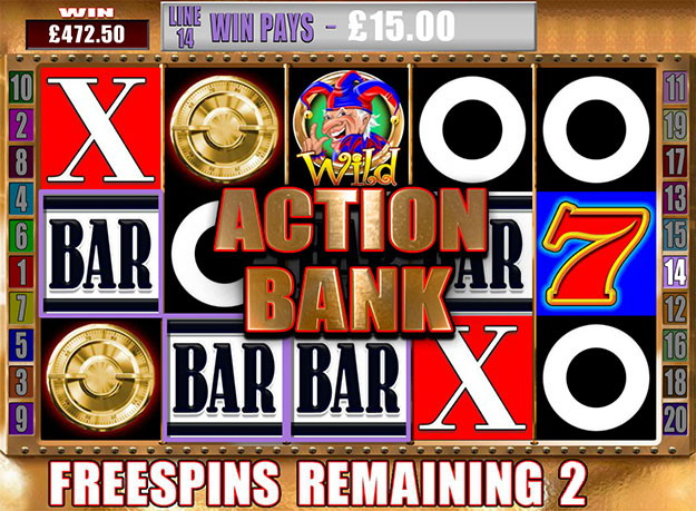 Action Bank Screenshot