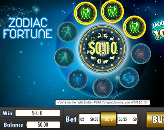 Zodiac Fortune  Screenshot