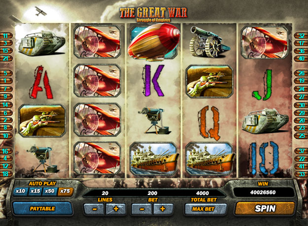 The Great War Screenshot