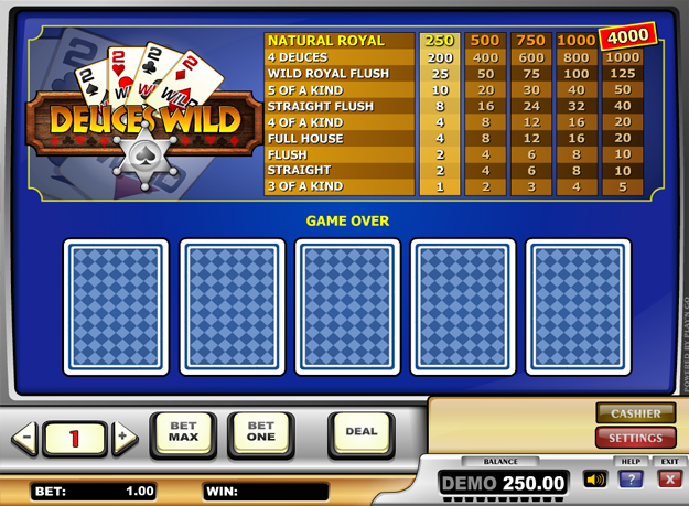 Deuces Wild Screenshot