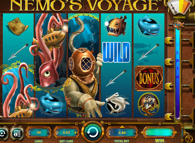 Nemo's Voyage Slots Screenshot