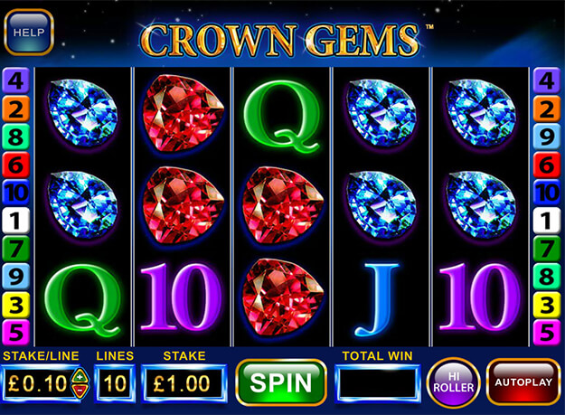 Crown Gems Hi Roller Slots Screenshot