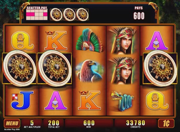Montezuma Slots Screenshot