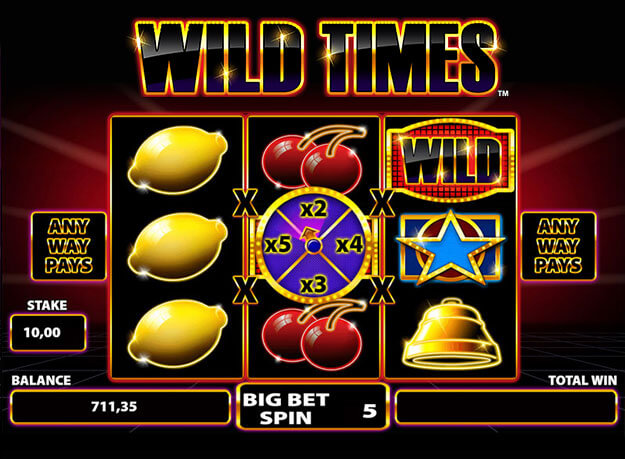 Wild Times Slot Screenshot